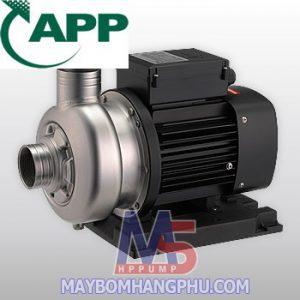 Máy bơm nước thải trục ngang đầu INOX APP SWO-220 2HP moi