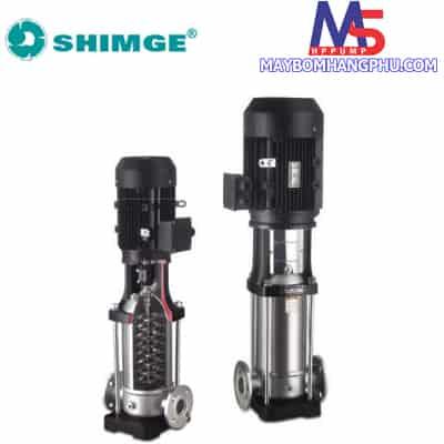 Máy bơm ly tâm trục đứng đầu INOX SHIMGE BL2-11 (1.5HP)