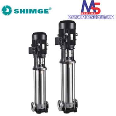 Máy bơm ly tâm trục đứng đầu INOX SHIMGE BLT2-11 (1.5HP)