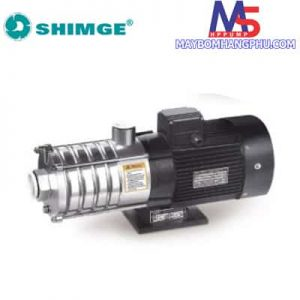 Máy bơm trục ngang đa tầng cánh đầu INOX SHIMGE BWJ4-6 (1.5HP) 1Phase