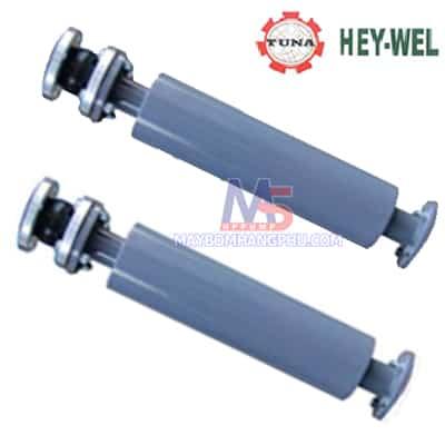 Ống giảm thanh của máy thổi khí Heywel ( Đầu ra + khớp nối mềm)
